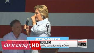 Hillary Clinton's health concerns rise as variable in U.S. Presidential election