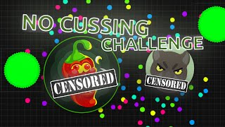 #UNCUT NO CUSSING CHALLENGE! FT. ANNI AND DAB // Agar.io Uncut // Snow sucks at no cussing