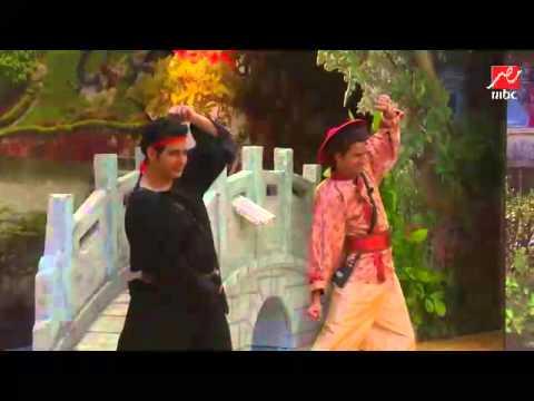 #مسرح_مصر على ربيع يرقص بالصيني على طريقته الكوميدية الخاصة