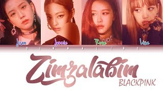 How Would BLACKPINK sing 'ZIMZALABIM' by RED VELVET(Color Lyrics Eng/Rom/Han)(FANMADE)
