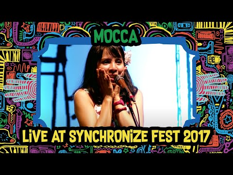 Mocca live at SynchronizeFest - 6 Oktober 2017