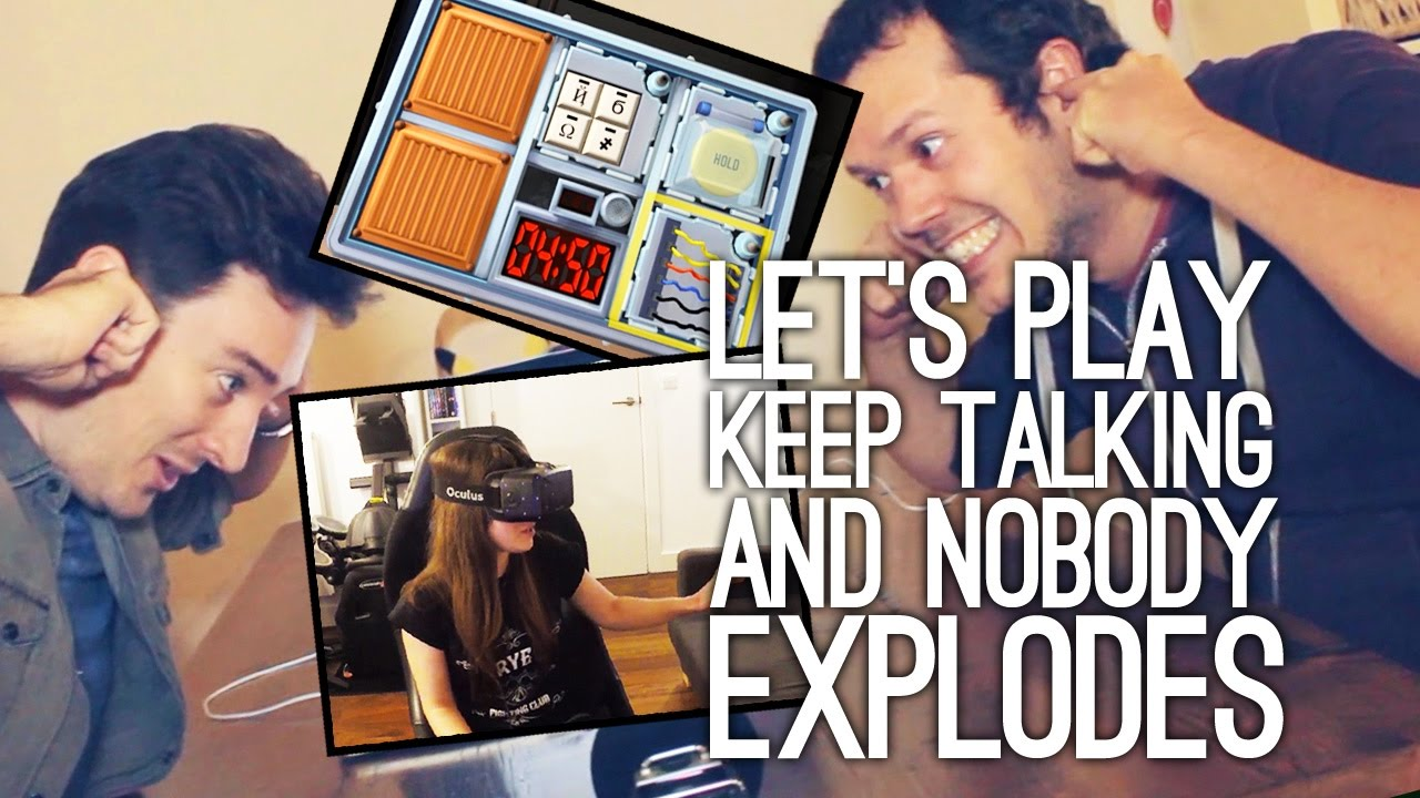 Keep Talking and Nobody Explodes VR Gameplay: Let's Play Keep Talking and Nobody Explodes!