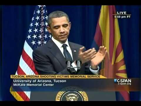 President Obama Speech at Tucson, AZ Memorial Service