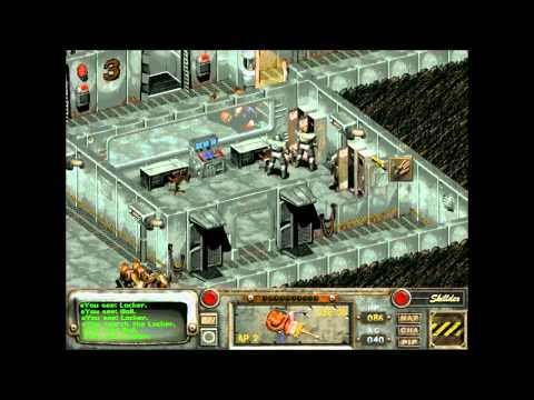 Let's Play Fallout 2: Restoration Project - 94 - Sierra Army Depot 1