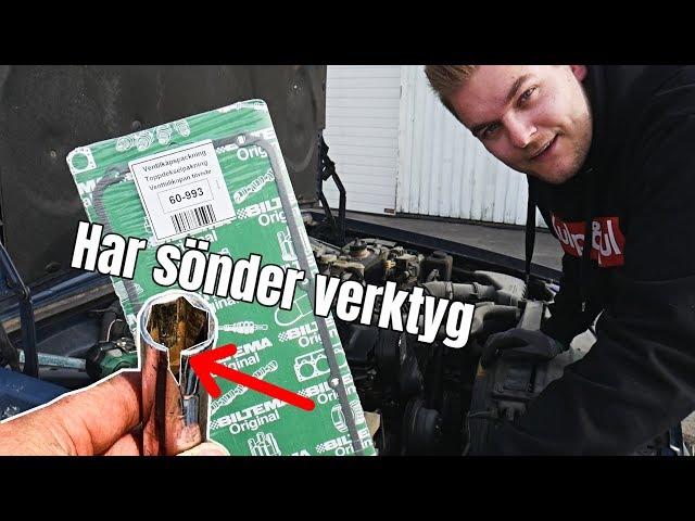 "Byter ventilkåpspackning på ""gebort"" Volvon   - [VLOGG #173]"