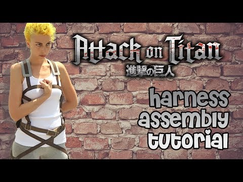 Cos Attack on Titan SNK Shingeki no Kyojin Harness Gürtel Cosplay Jäger Kostüm