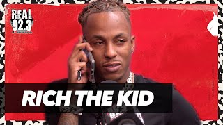 Rich the Kid taĮks Being A CEO, Investment Advice, New Music | Bootleg Kev & DJ Hed