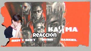 Noriel, Rkm Y Ken - Y Feat Divino, Darkiel - Karma 🖤   S  Reaccion