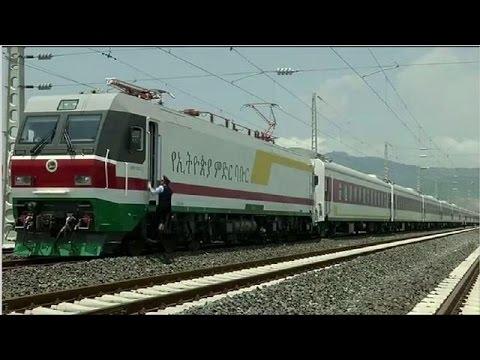 Ethiopia launches new railway to Djibouti