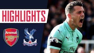GOALS & HIGHLIGHTS | Crystal Palace 2 - 2 Arsenal
