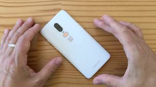 OnePlus 6 (Silk White) unboxing (live)