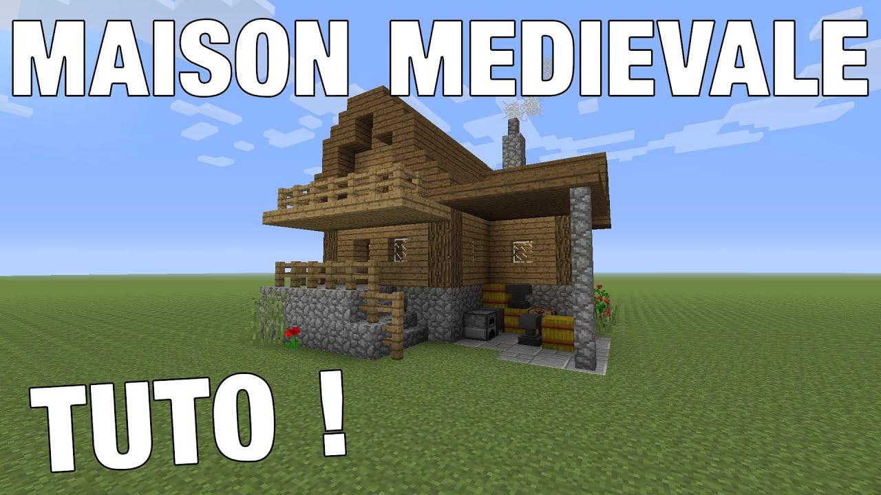 Minecraft Comment Faire Une Maison Médiévale Ps4 Youtube