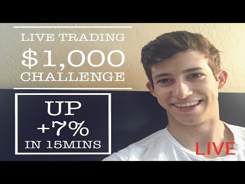 Live Trading Up +7% In 15mins: $1,000 to $20,000 Challenge | Daily Recap Trading Penny Stocks