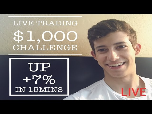 Live Trading Up 7 In 15Mins 1 000 To 20 000 Challenge Daily Recap Trading Penny Stocks
