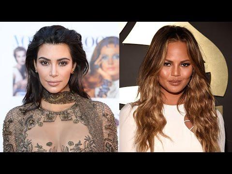 Chrissy Teigen Sends Kim Kardashian HILARIOUS Message After Blackberry Death