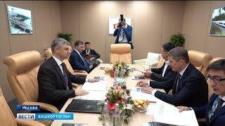 Радий Хабиров принял участие в деловом завтраке министра транспорта РФ Евгения Дитриха