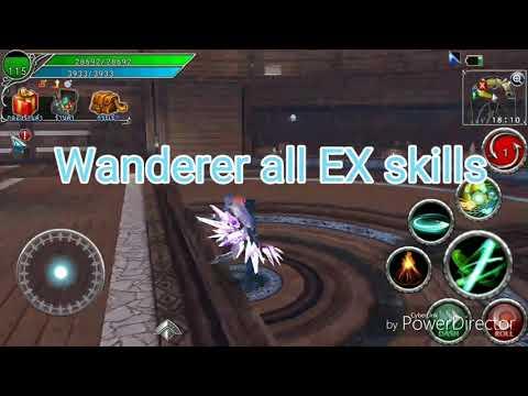 Avabel Online All Wanderer EX Skills