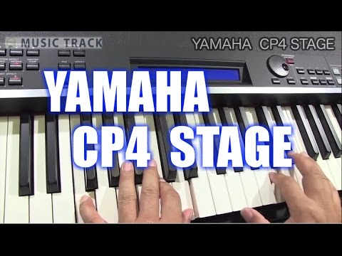 YAMAHA CP4 STAGE Demo&Review [English Captions]