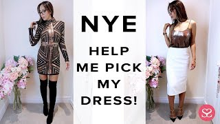 GET READY WITH ME FOR NEW YEAR'S EVE! | Try-On Fashion Vlog | Sophie Shohet
