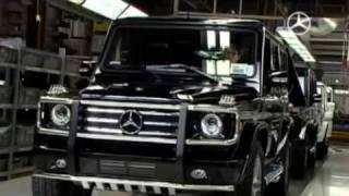 Mercedes Benz G Class off road test