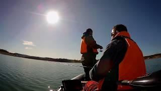 Чемпионат Крыма по ловле хищной рыбы спинингом с лодок Симферопольское водохранилище 02 03 11 19г