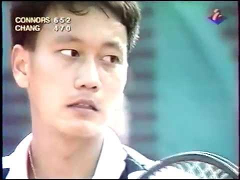Chang vs Connors 3è tour Roland Garros 1991 Part.2