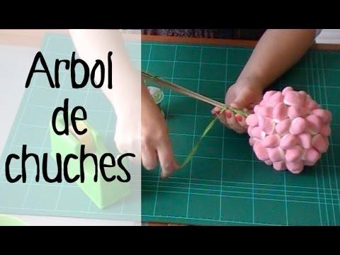 Decoración de fiestas infantiles: Topiario de dulces.
