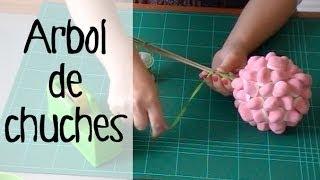 Repeat youtube video Decoración de fiestas infantiles: Topiario de dulces.