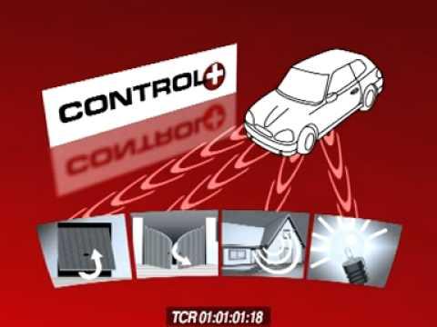 Control plus telecommande phares de voitures pour portail for Telecommande porte de garage came