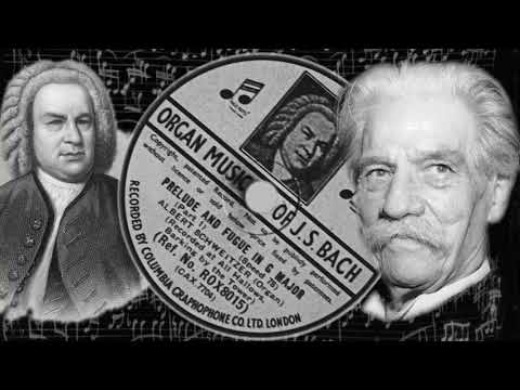 JS Bach  Prelude and Fugue in G Major  Part 1  Albert Schweitzer
