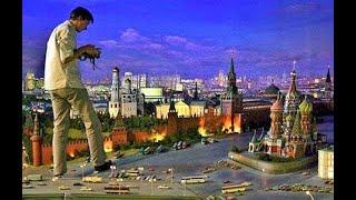 Смотреть видео Макет Москвы на ВДНХ это что то потрясающее. Куда сходить с ребенком в Москве. онлайн