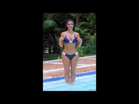 WOW:Ким Кардашьян: откровенные фото  в купальниках: до и  после фотошопа!