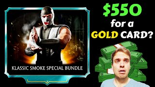 MK Mobile. Klassic Smoke Special Bundle. Should You Buy It? The Most EXPENSIVE Gold Character.