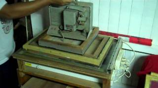 SCREEN PRINTING aligning&exposure.avi