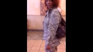 Female Busted In Tuscaloosa Alabama Posing As A Soldier Home From Deployment thumbnail