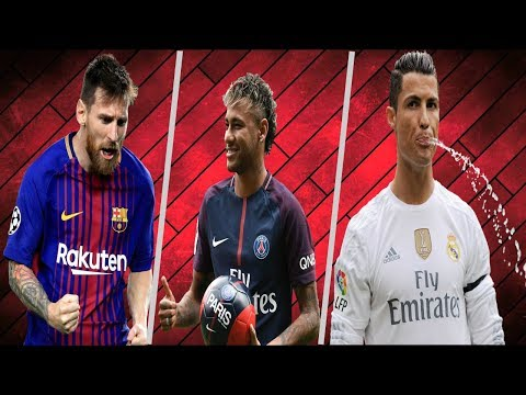 TOP 10 HIGHEST PAID FOOTBALLERS.2018|Ft. Neymar,Messi,Ronaldo