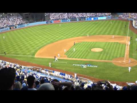 NLCS 2013 Dodgers vs St Louis Mariachi Loco Adrian González