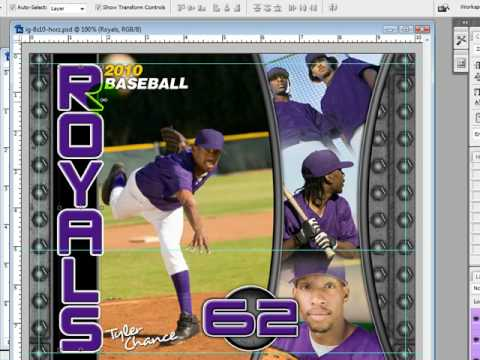 photoshop sports template
