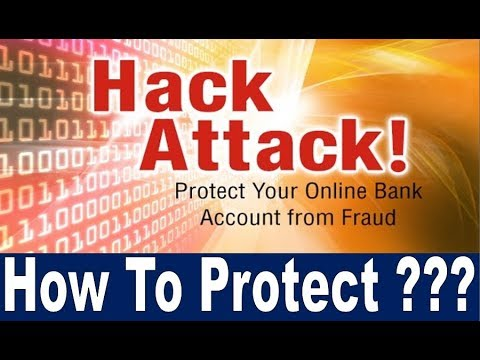 HOW TO HACK BANK ACCOUNTS IN 1 MINUTE !!! PROTECT YOUR ONLINE BANK ACCOUNT  FROM FRAUD