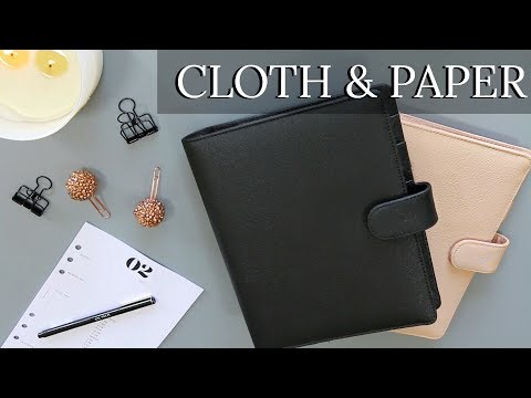 CLOTH AND PAPER PLANNER HAUL | INSERTS, ACCESSORIES & MORE!