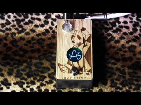 Anasounds LAZY COMP optical compressor demo with Sur Tele & Dr Z amp