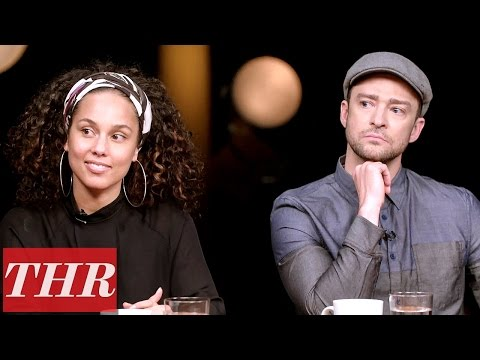 THR  Oscar Songwriters Roundtable: Justin Timberlake John Legend Alicia Keys & More
