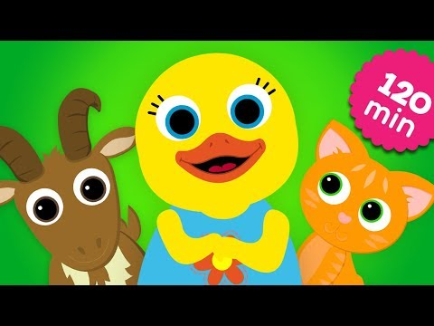 English Words - Animals collection | Stories For Kids With Tillie | Speaking & Learning by ABC Fun