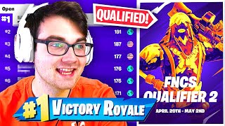 I QUALIFIED for FNCS Round 2 with MY NEW TRIO... (FULL FORTNITE TOURNAMENT)