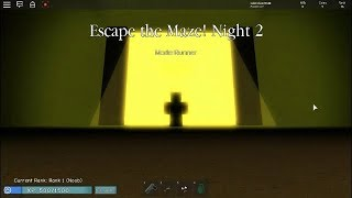 [ALPHA] Noobs vs Zombies: Realish OMG I ESCAPED THE MAZE,FINALLY!!! The exit the maze -Roblox