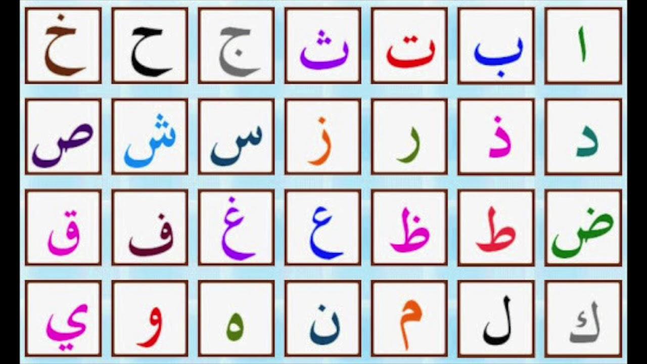 apprendre l 39 alphabet arabe avec le groupe sounna djama. Black Bedroom Furniture Sets. Home Design Ideas