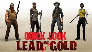 Lead And Gold: Gangs Of The Wild West - Quick Look (PS3)
