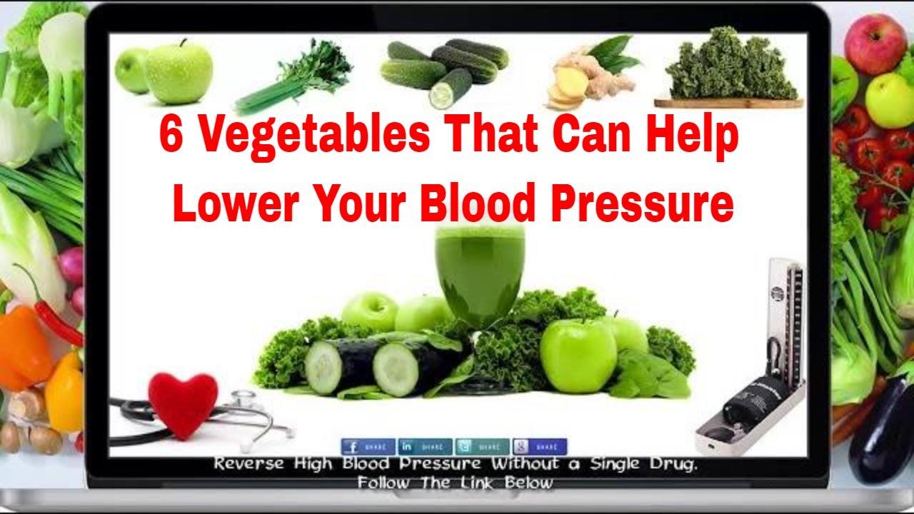 6 vegs that cure high blood pressure youtube nvjuhfo Gallery
