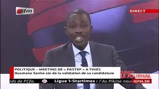 REPLAY - JT Français 20h - Pr : IBOU KANE - 11 Décembre 2018