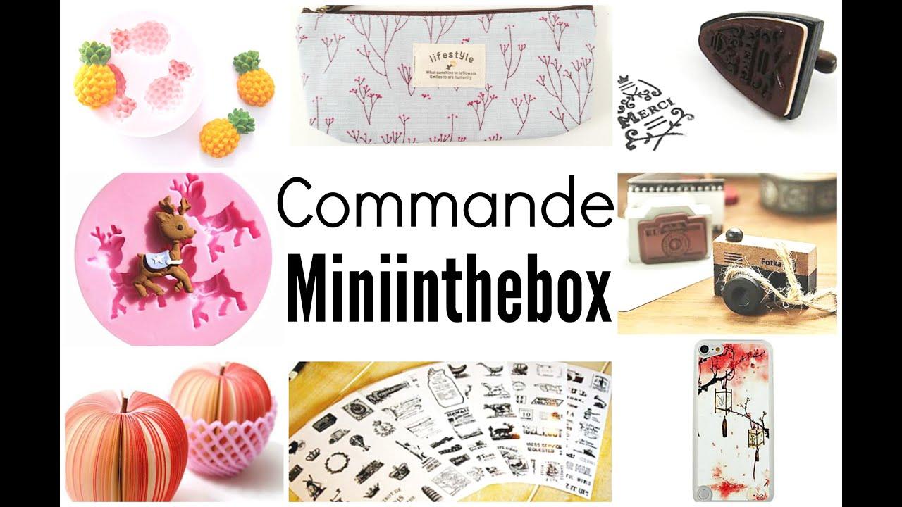 Miniinthebox loisirs cr atifs pas cher youtube - Materiel loisir creatif pas cher ...